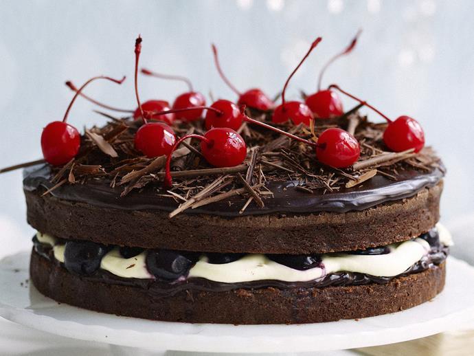 "[Black Forest mud cake](http://www.foodtolove.com.au/recipes/black-forest-mud-cake-23741|target=""_blank"")"
