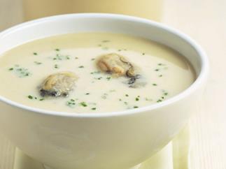 OYSTER & SAFFRON SOUP