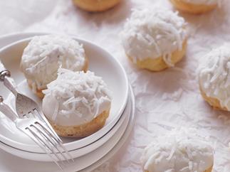 fluffy coconut puffs
