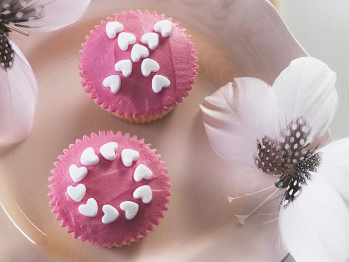 """[Hugs and kisses cupcakes](https://www.womensweeklyfood.com.au/recipes/hugs-and-kisses-cupcakes-9901