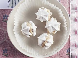 coffee meringue kisses