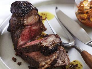 INDIAN-SPICED ROAST BEEF