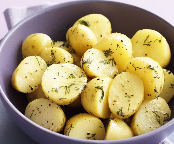 dill and lemon potatoes