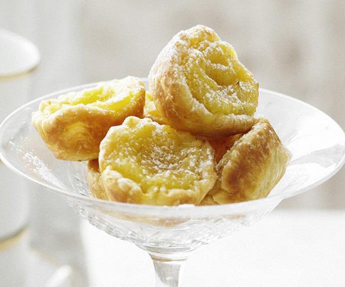 mini portuguese custard tarts