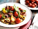 Rigatoni with oven-roasted vegetables