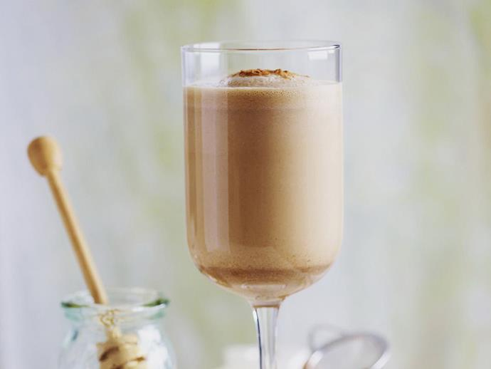 """Thick, creamy and deliciously spiced, this [chai smoothie](https://www.womensweeklyfood.com.au/recipes/chai-smoothie-9143