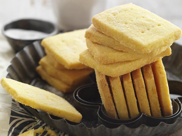 "[Mandarin polenta biscuits.](https://www.womensweeklyfood.com.au/recipes/mandarin-polenta-biscuits-3553|target=""_blank"")"