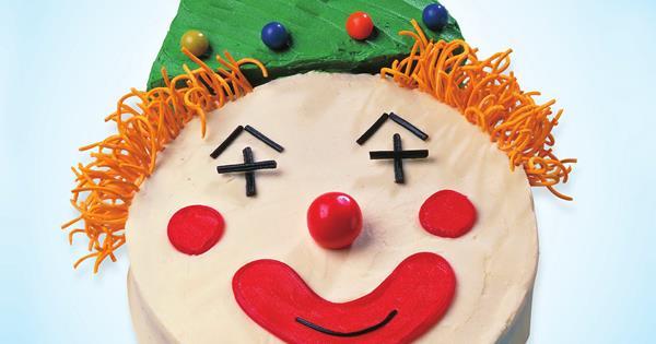 Fabulous Boris The Clown Australian Womens Weekly Food Funny Birthday Cards Online Inifodamsfinfo