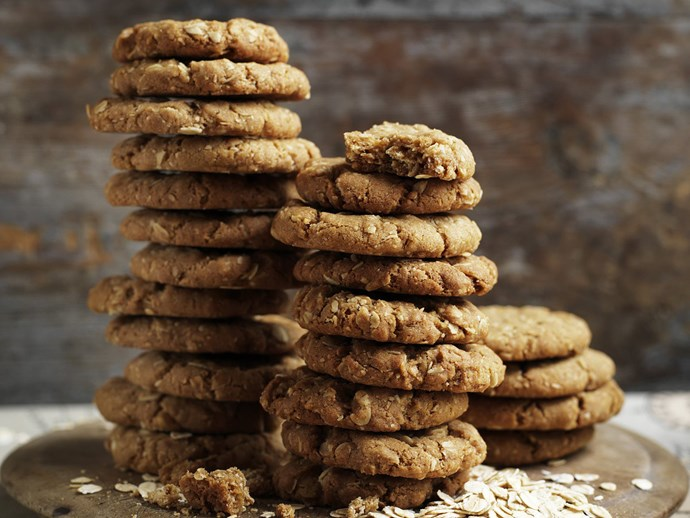 Four delicious ways to make ANZAC biscuits and bites