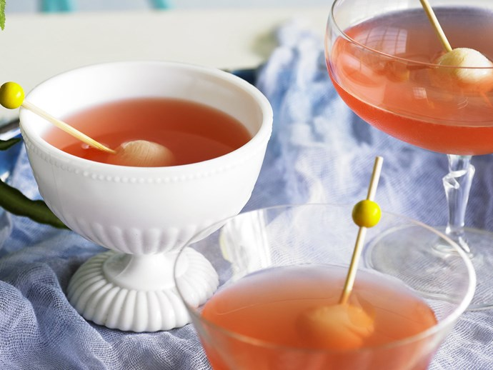 "[Lychee cocktails recipe.](http://www.foodtolove.com.au/recipes/lychee-cocktails-30315|target=""_blank"")"