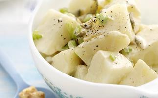 caesar-style potato salad