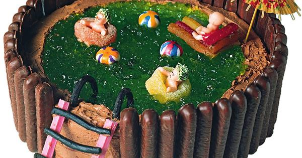 Swimming Pool Birthday Cake Australian Women S Weekly Food
