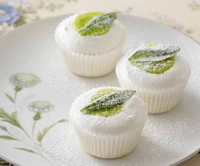 lime curd meringue tarts
