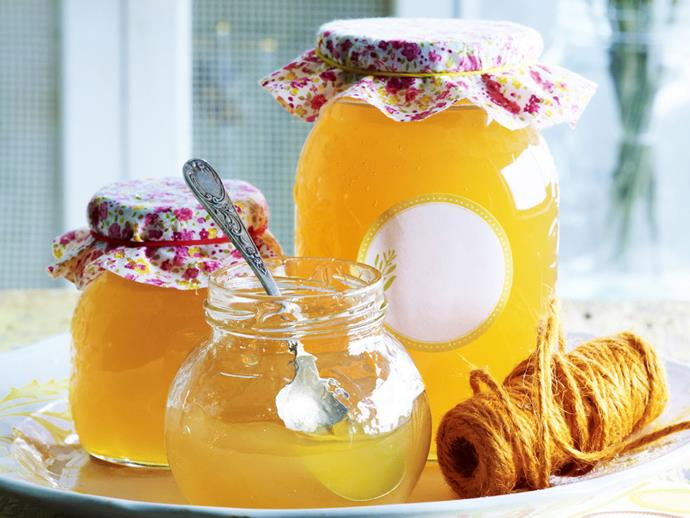 Orange and lime jelly