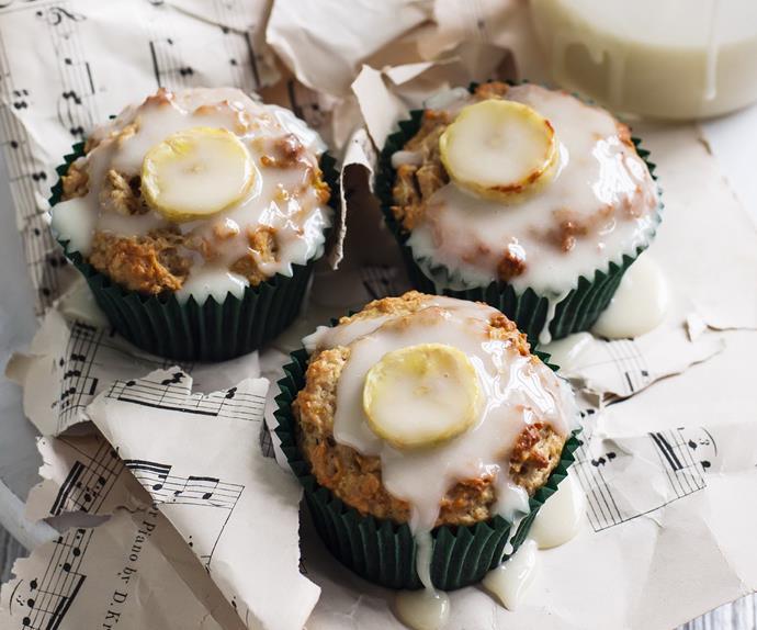 wheaty banana muffins