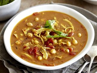 MOROCCAN CHICKEN & CHICKPEA SOUP