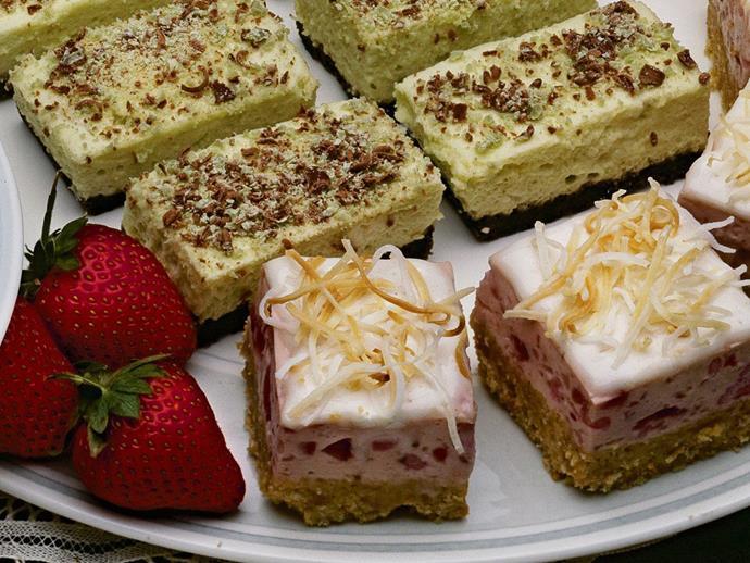 """**[Pineapple cream slice](https://www.womensweeklyfood.com.au/recipes/pineapple-cream-slice-6029 target=""""_blank"""")**"""