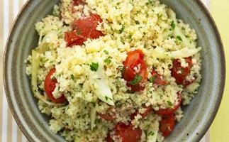 fennel and tomato couscous salad
