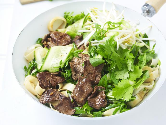 """This [beef and noodle stir fry](https://www.womensweeklyfood.com.au/recipes/beef-and-noodle-stir-fry-15306
