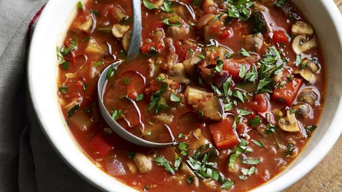 mediterranean vegetable soup