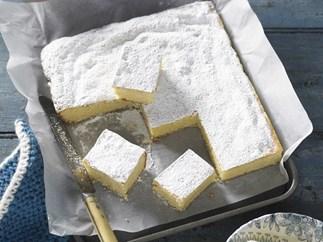 white chocolate and macadamia cake