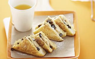 apple and raisin french toast