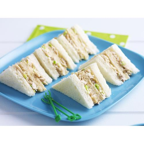 Chicken Mayo Celery And Walnut Sandwiches Recipe Food To Love