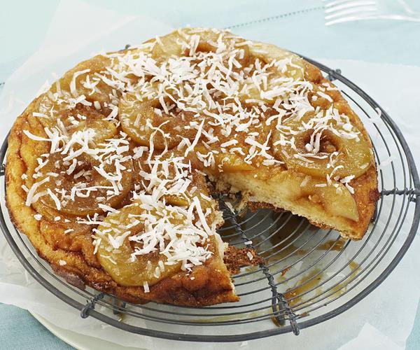 Upside Down Apple Cake Recipe Nz