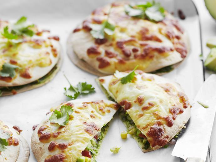 """These [spinach and cheese quesadillas](https://www.womensweeklyfood.com.au/recipes/spinach-and-cheese-quesadillas-14356