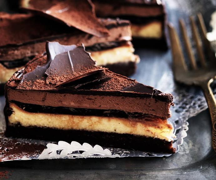 Five-layer chocolate ESPRESSO CAKE