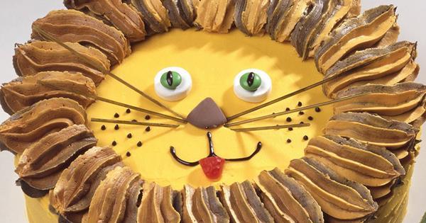Enjoyable Lionel Lion Australian Womens Weekly Food Funny Birthday Cards Online Overcheapnameinfo