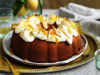 Lemon cake WITH MASCARPONE FROSTING