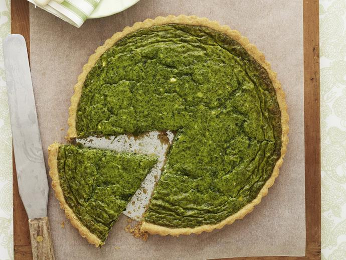 "**[Spinach quiche](http://www.womensweeklyfood.com.au/recipes/spinach-quiche-14431|target=""_blank"")**"