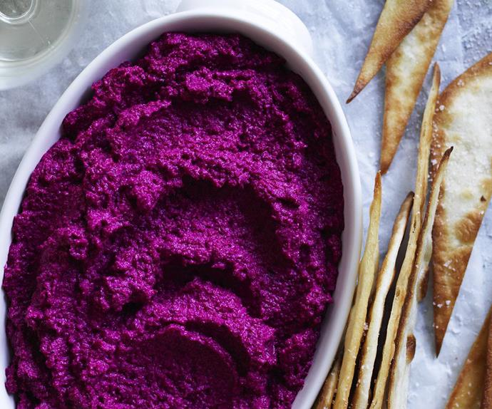 roasted beetroot & red onion dip
