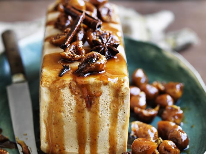 """**[Chai parfait with fig and whole spice syrup](https://www.womensweeklyfood.com.au/recipes/chai-parfait-with-fig-and-whole-spice-syrup-14525