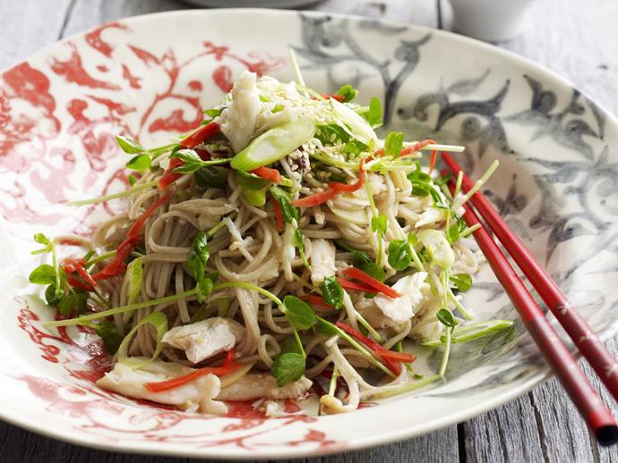 """**[Crab and noodle salad with ginger](https://www.womensweeklyfood.com.au/recipes/crab-and-noodle-salad-with-ginger-14547