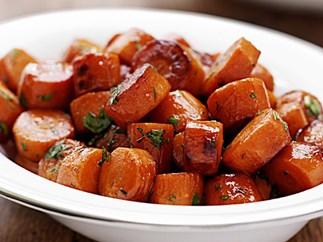 caramelised carrots