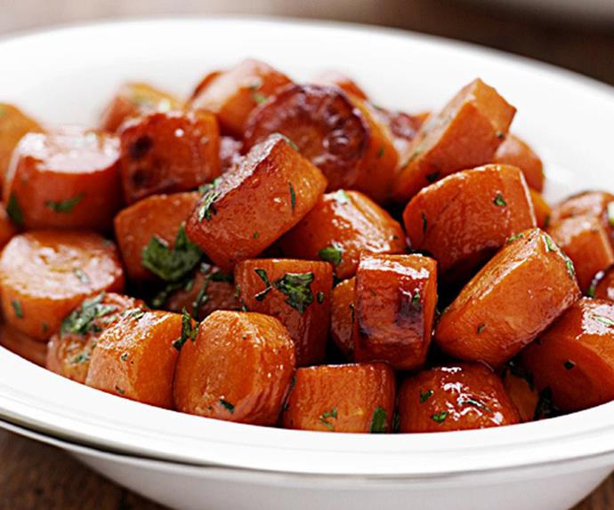 caramelised carrots