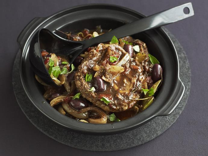 """**[Balsamic and port beef shanks](https://www.womensweeklyfood.com.au/recipes/balsamic-and-port-beef-shanks-14079