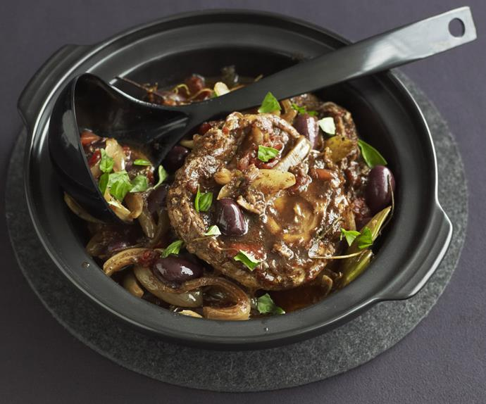 balsamic and port beef shanks