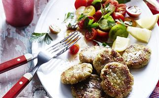 QUINOA FALAFEL WITH GREEN TAHINI