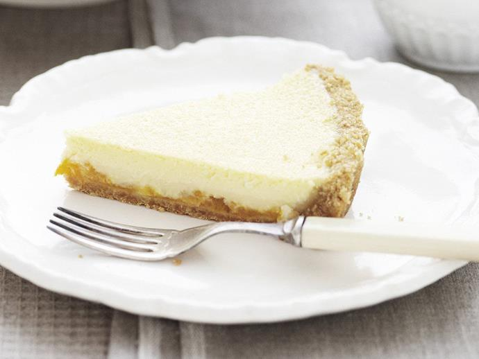"""**[Apricot cheesecake](https://www.womensweeklyfood.com.au/recipes/apricot-cheesecake-14161