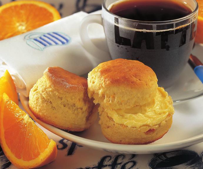 cardamom marmalade scones