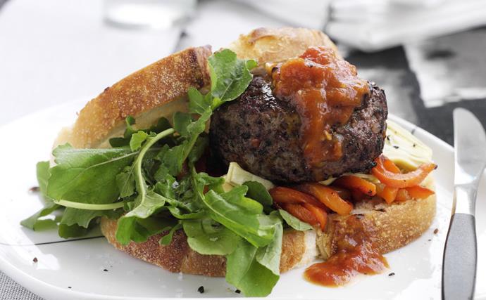 Burgers italian-style