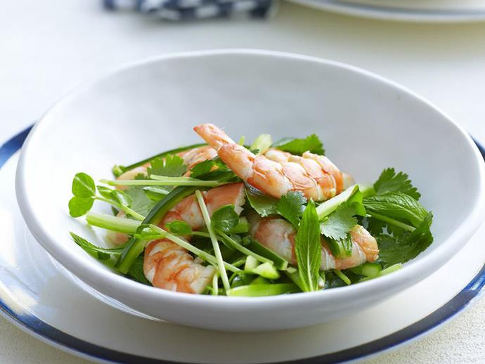 """The fresh flavours of Vietnam make this plump [prawn and crisp cucumber salad](https://www.womensweeklyfood.com.au/recipes/vietnamese-prawn-and-cucumber-salad-13818