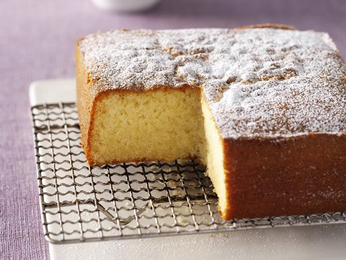 """**[Vanilla butter cake](https://www.womensweeklyfood.com.au/recipes/vanilla-butter-cake-13827