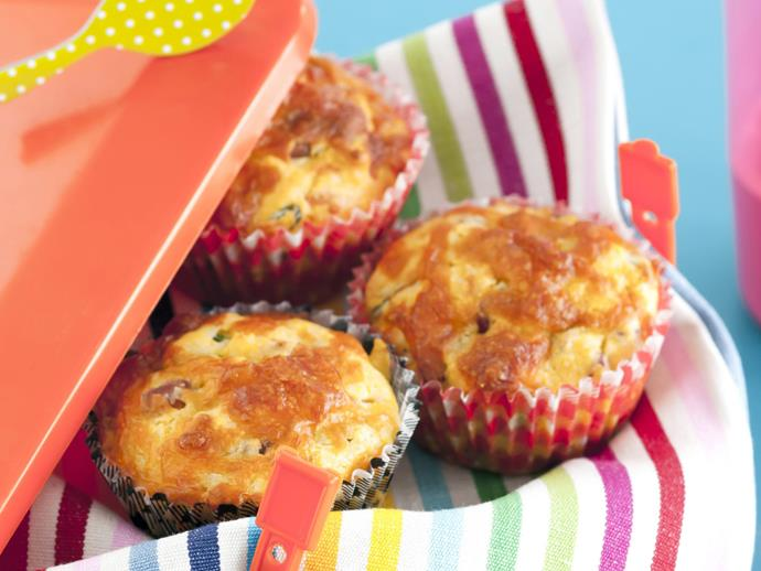 """**[Pancetta and cheese muffins](https://www.womensweeklyfood.com.au/recipes/pancetta-and-cheese-muffins-5824