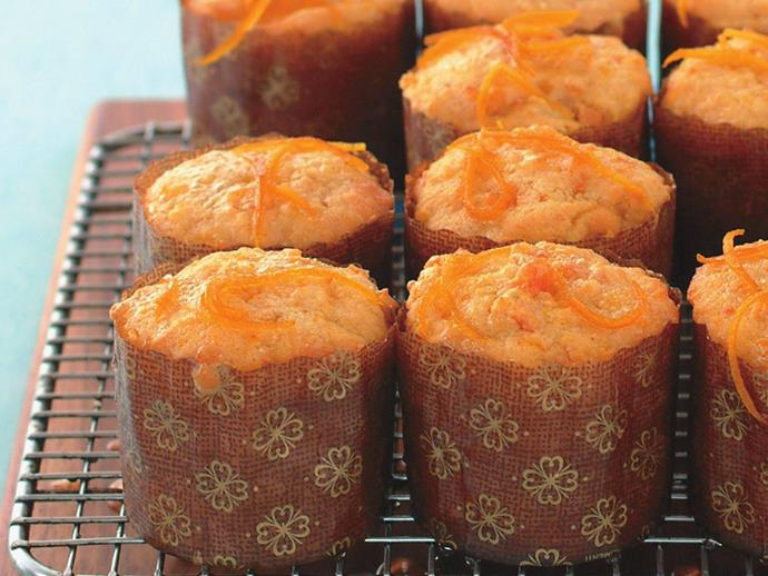 """Rich, moist [little orange cakes](https://www.womensweeklyfood.com.au/recipes/orange-syrup-cakes-13875