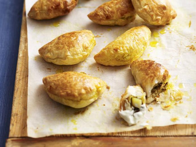 """**[Curry puffs](https://www.womensweeklyfood.com.au/recipes/curry-puffs-6646