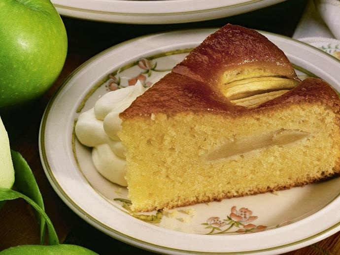 """This simple [apple tea cake](https://www.womensweeklyfood.com.au/recipes/apple-cake-15404